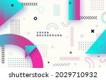abstract background with...   Shutterstock .eps vector #2029710932