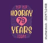 birthday anniversary event... | Shutterstock .eps vector #2029712408