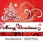 christmas | Shutterstock .eps vector #20297422