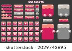 large set of buttons and game...