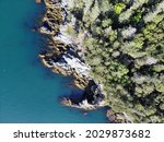 Aerial View Of The Rugged And...