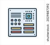vector colorful illustration...   Shutterstock .eps vector #2029887392