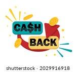 cash back banner. cashback... | Shutterstock .eps vector #2029916918