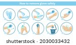 How To Remove Disposable Gloves ...