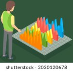 visualize with business...   Shutterstock .eps vector #2030120678