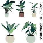 indoor and outdoor landscape...   Shutterstock .eps vector #2030140355