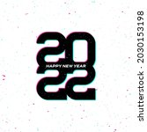 happy new year 2022....   Shutterstock .eps vector #2030153198