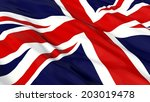 flag of the uk. | Shutterstock . vector #203019478