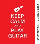 play guitar vector banner...   Shutterstock .eps vector #2030271365