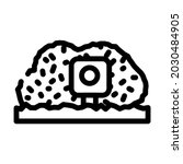 photo trap gadget line icon... | Shutterstock .eps vector #2030484905