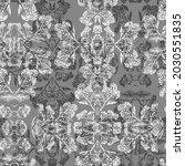 Vintage Seamless Pattern Of...