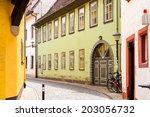 erfurt  germany    jun 16  2014 ... | Shutterstock . vector #203056732