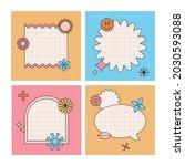vector set of design elements ...   Shutterstock .eps vector #2030593088