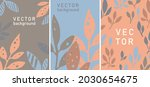 floral decoration and botany... | Shutterstock .eps vector #2030654675