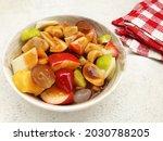 Indonesian Food  Rujak Kweni Is ...
