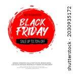 black friday inscription on...   Shutterstock .eps vector #2030935172