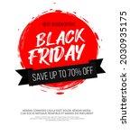 black friday inscription on...   Shutterstock .eps vector #2030935175