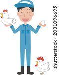illustration of a man and a...   Shutterstock .eps vector #2031096695