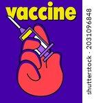 Covid 19 Vaccination Concept....