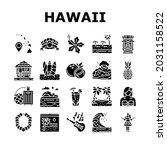 hawaii island vacation resort... | Shutterstock .eps vector #2031158522