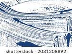 grunge texture. distress indigo ... | Shutterstock .eps vector #2031208892