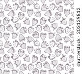 seamless pattern with... | Shutterstock .eps vector #203129812