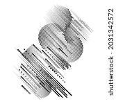 minimalistic creative concept . ... | Shutterstock .eps vector #2031342572