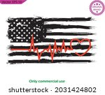 national american heart beat... | Shutterstock .eps vector #2031424802