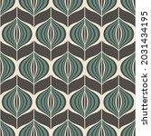 seamless geometric pattern.... | Shutterstock .eps vector #2031434195