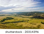 view on the valley from the... | Shutterstock . vector #20314396