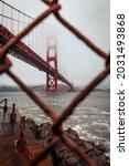 The Famous Golden Gate Bridge...