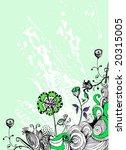 floral background | Shutterstock .eps vector #20315005
