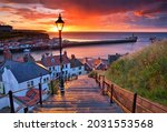 Dramatic Sunset At Whitby After ...