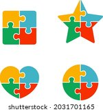 shape icon by combination of...   Shutterstock .eps vector #2031701165
