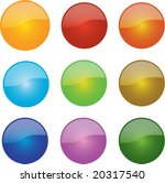 a selection of glossy ball icons | Shutterstock .eps vector #20317540