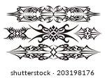 tribal set design vector