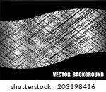 metal abstract background  ... | Shutterstock .eps vector #203198416