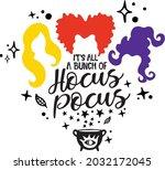it's all a bunch of hocus pocus.... | Shutterstock .eps vector #2032172045