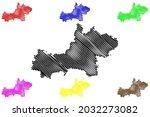 main kinzig district  federal... | Shutterstock .eps vector #2032273082