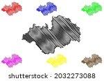 ludwigslust parchim district ... | Shutterstock .eps vector #2032273088