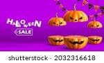 Halloween Sale Podium For...