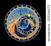Famous Astronomical Clock At...