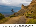 Overlook in the Mesa Verde National Park, Colorado, USA