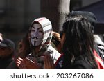brisbane  australia   july 06   ... | Shutterstock . vector #203267086