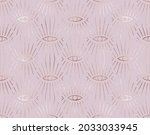 geometric seamless pattern with ... | Shutterstock .eps vector #2033033945