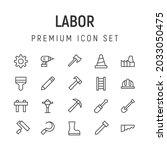 premium pack of labor line...