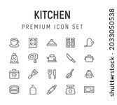 premium pack of kitchen line...
