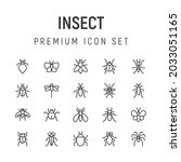 premium pack of insect line...