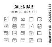 premium pack of calendar line...