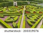 villandry  france   july 20 ... | Shutterstock . vector #203319076